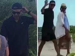 Barack Obama's Backwards Cap In Holiday Pics Is Making Twitter Flip Out