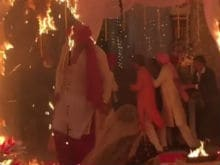 Kushal Tandon Helps Jennifer Winget In Beyhadh Fire Scene After She 'Froze'