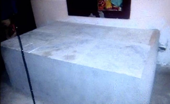 bhopal woman buried in cement slab