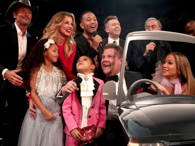 grammys 2017 the moments blue ivy 5 stole hearts dressed as prince ndtv movies ndtv movies