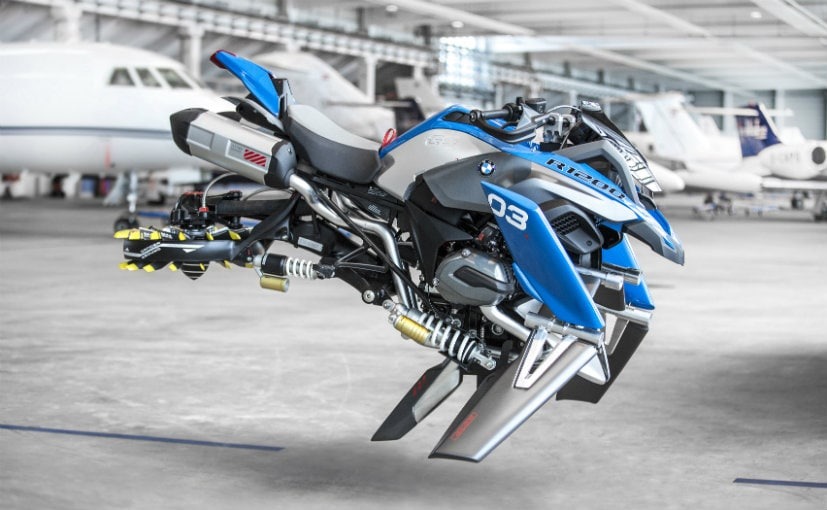 Say Hello To BMW's Flying Motorcycle Concept