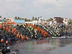 Chennai Oil Spill: Crew Of Both Ships Being Interrogated, Can't Leave City