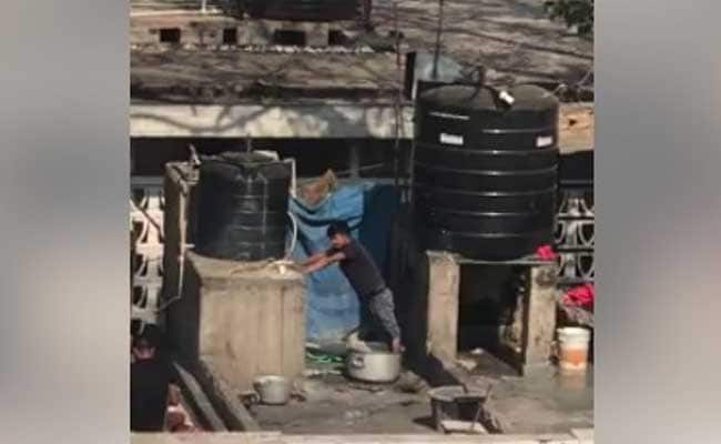 Gulp. Man In Video Kneads Dough With Feet. Delhi Restaurant Explains