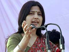 UP Elections 2017: Dimple Yadav Comes Up With New 'Kasab' Acronym