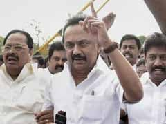 DMK's MK Stalin On Hunger Strike Over Tamil Nadu Speaker's Trust Vote Decision