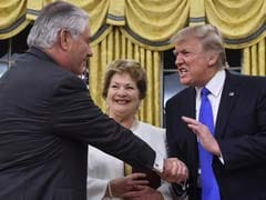Investigating President Trump's Weird Habit Of Yanking People's Hands In Photo Ops