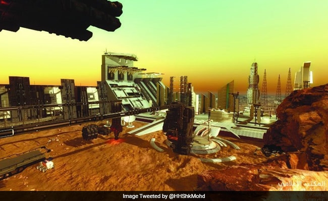 UAE Plans To Build First City On Mars By 2117