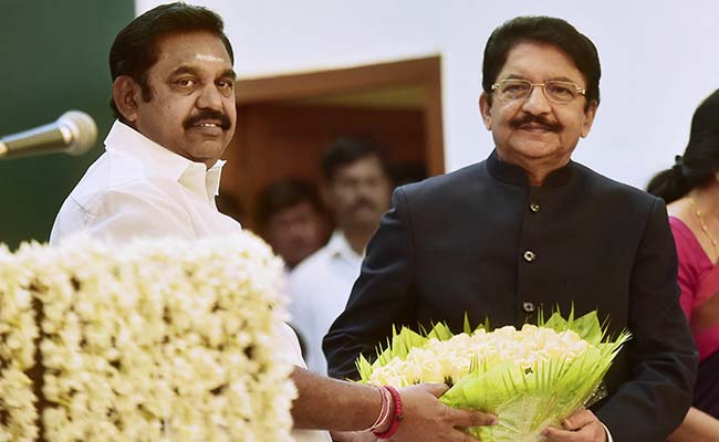 e palaniswami taking oath