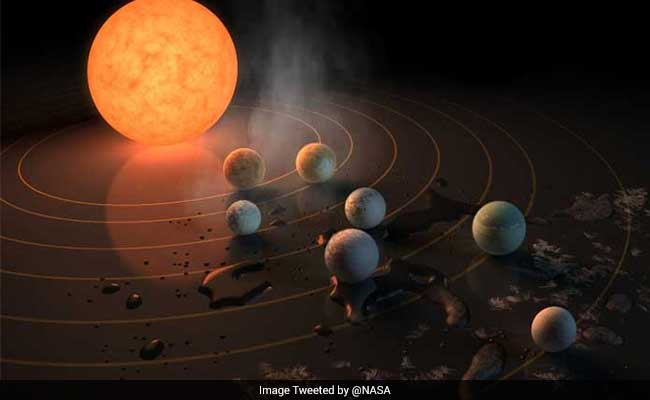 NASA Has Found A New Solar System With 7 Earth-Sized Planets