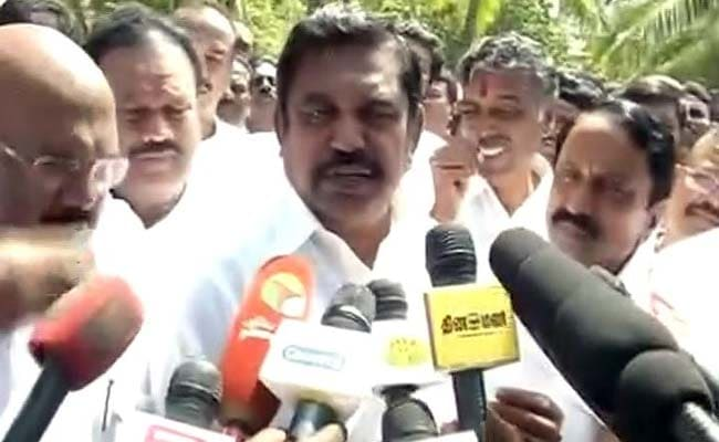 10 Things To Know About Tamil Nadu's New Chief Minister Edappadi Palaniswami