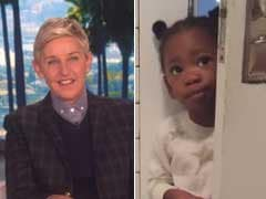 Ellen DeGeneres Shares Tired Mum's Video Of 'Most Polite Intruder'