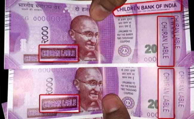 'Children Bank of India' dispenses fake Rs 2000 notes at Delhi ATM