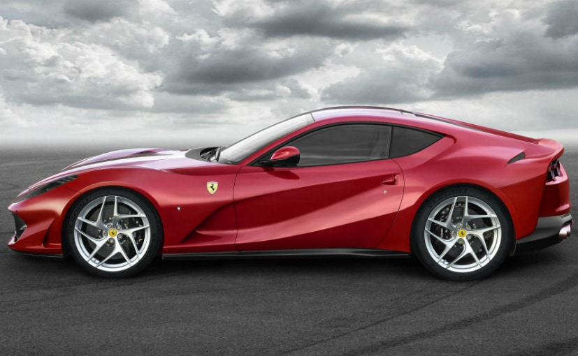 ferrari 812 superfast side profile