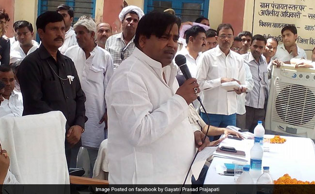 Gangrape case, a political conspiracy by BJP: Prajapati