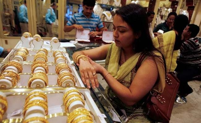 Gold prices had gained Rs 340 in the past three sessions.