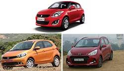 Hyundai Grand i10 VS Maruti Suzuki Swift VS Tata Tiago: Spec Comparison