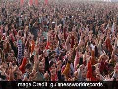 Half A Million Indians Set A Guinness World Record For...