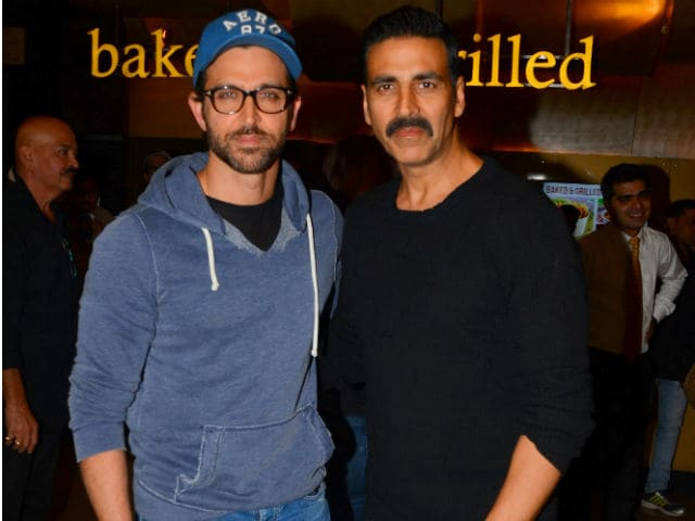Akshay Kumar And Hrithik Roshan May Star In A Two-Hero Film