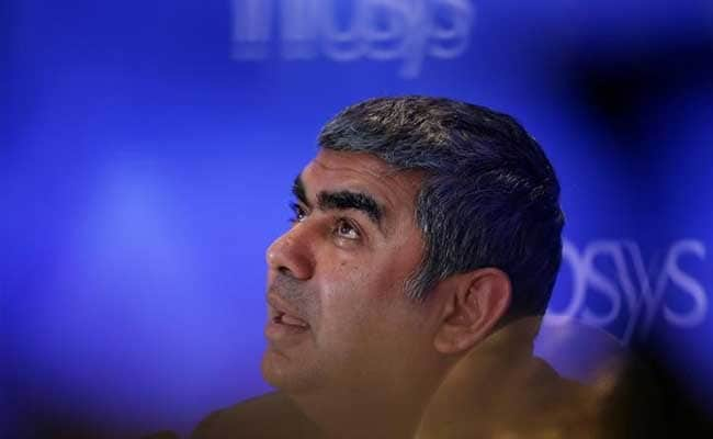 Infosys CEO Vishal Sikka said he took 99 commercial and 17 private flights in 2016.