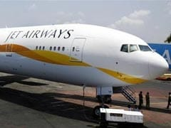 Jet Airways Plane Skids On Landing At Delhi Airport