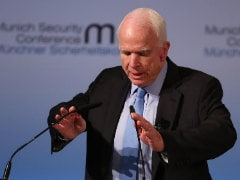 Donald Trump's Team In Disarray, US Senator McCain Tells Europe