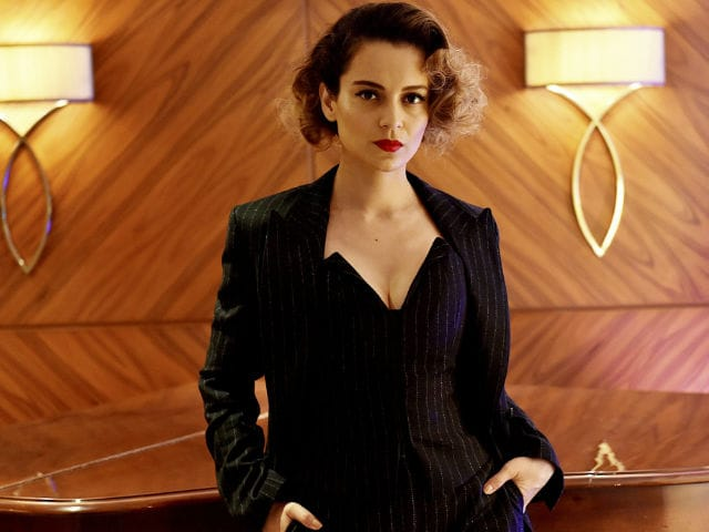 Kangana Recommends 'I Mean Business' Attitude To Working Women