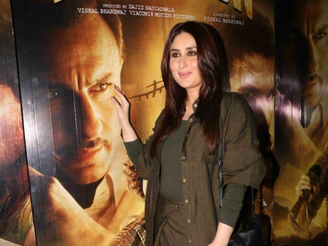 Kareena Kapoor Watches Rangoon, Says Kangana, Shahid, Saif Are 'Stellar Actors'