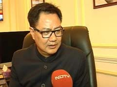 Forces Have Rights Too, Says Kiren Rijiju On Human Shield Used In Kashmir