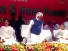 But This Chair Is For Nitish Kumar, Lalu Yadav Was Told