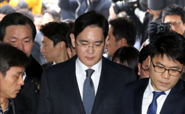 Samsung's Heir The Most Recent Arrest In South Korean Scandal