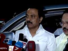 MK Stalin Meets Sonia Gandhi, Discusses Political Situation In Tamil Nadu