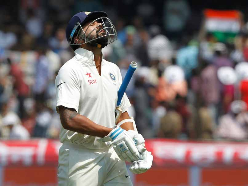 murali vijay out vs bangladesh