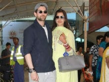 Newlyweds Neil Nitin Mukesh, Rukmini Sahay Touchdown In Mumbai Hand-In-Hand. See Pics