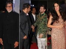 Neil Nitin Mukesh-Rukmini Sahay's Reception: Salman Khan, Amitabh Bachchan, Katrina Kaif Arrive In Style