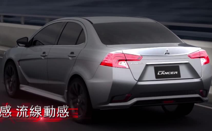 new mitsubishi lancer rear