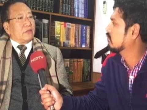 Nagaland Chief Minister TR Zeliang offers to step down in face of protests by Naga groups