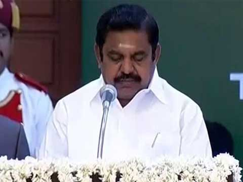 After lawmakers break chairs in Tamil Nadu Assembly over trust vote, speaker walks out. Session delayed till 1 pm