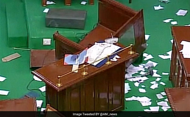 Trust Vote begins in Tamil Nadu assembly after DMK lawmakers evicted from House over violence: news agency ANI