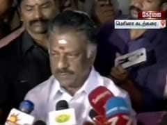 Highlights: Tamil Nadu Chief Minister O Panneerselvam Shares 'Some Truths' With AIADMK Cadres, People