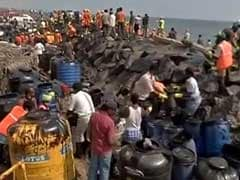 Chennai Oil Spill: 90 Per Cent Sludge In Affected Regions Removed, Says Panneerselvam