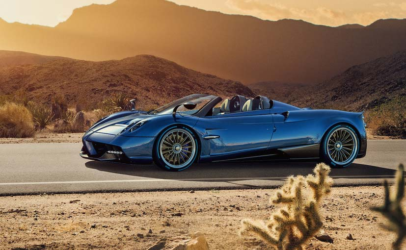 New Pagani Huayra Roadster Revealed