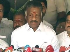 Former Chief Minister O Panneerselvam Camp Demands Secret Ballot To Decide On Confidence Motion