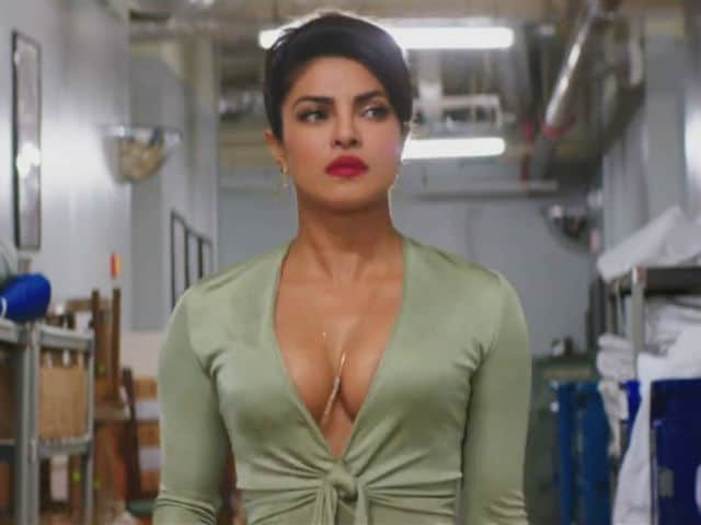 Baywatch Poster: Priyanka Chopra Wears Something Red. It's Not What You Think