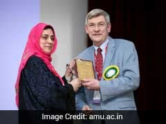 Professor Farukh Arjmand Of AMU Receives 'Distinguished Women Scientists Award 2016' In ISCBC-2017