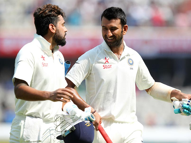 pujara and vijay