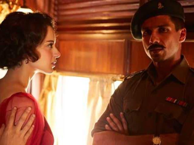 Rangoon Celeb Review: Stars Watch Kangana Ranaut, Shahid Kapoor's Film. 'Bloody Hell,' They Tweet
