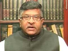 Strict Action Will Be Taken Against Cow Vigilantes: Ravi Shankar Prasad