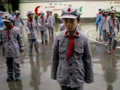Chinese Children Learn Patriotic Spirit At 'Red Army School'