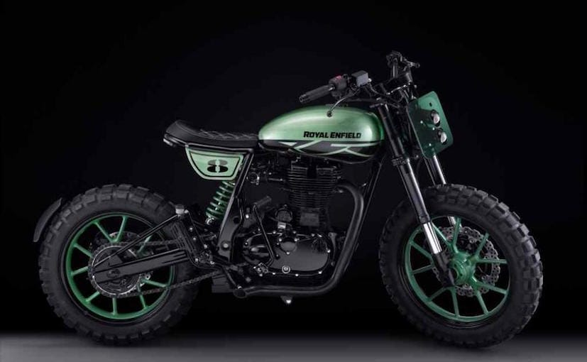 Custom Built Royal Enfield Classic 500 Green Fly Unveiled