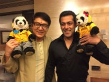 When Salman Khan Wrapped Tubelight Shoot Early To Meet Jackie Chan